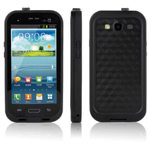Samsung Galaxy S4 Waterproof Case - Black | Free Shipping