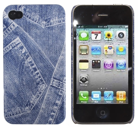 6ae60c5115e98f iPhone 4S Denim Jeans Case