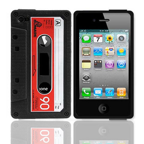 iPhone 4S Retro Cassette Case | Free Shipping