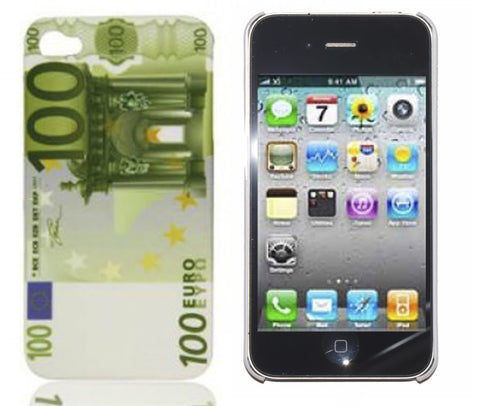 iPhone 4S 100 Euro case | Free Shipping