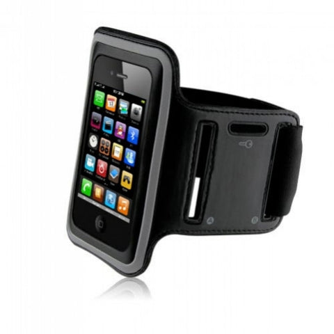 iPhone 4S Sports Running case - Black | Free Shipping