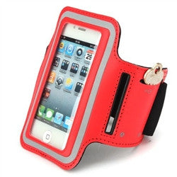 iPhone 4 Sports Running case - Red | Free Shipping