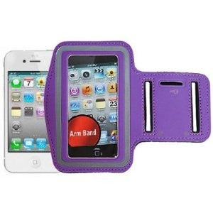 iphone 5 Sports Running case - Purple | Free Shipping