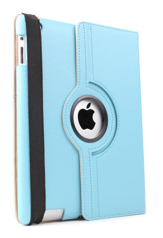 iPad 360 Rotating Case - Blue | Free Shipping