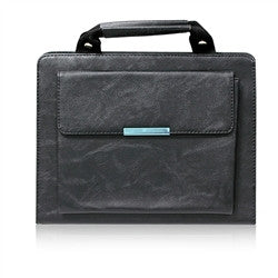 ipad faux leather handbag - black | Free Shipping