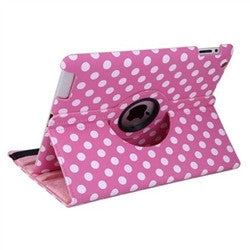 iPad 360 Polka Dot Case - Pink | Free Shipping