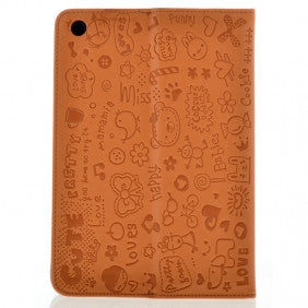 iPad 2 & 3 Cute Case - Brown | Free Shipping