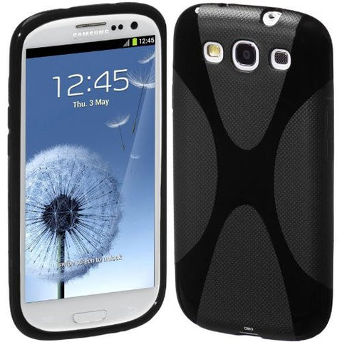 Samsung Galaxy S3 X-Line Case - Black | Free Shipping