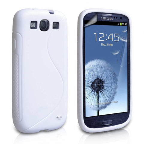 Samsung Galaxy S3 S-Line Case - White | Free Shipping