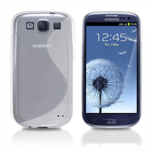 Samsung Galaxy S3 S-Line Case - Clear | Free Shipping