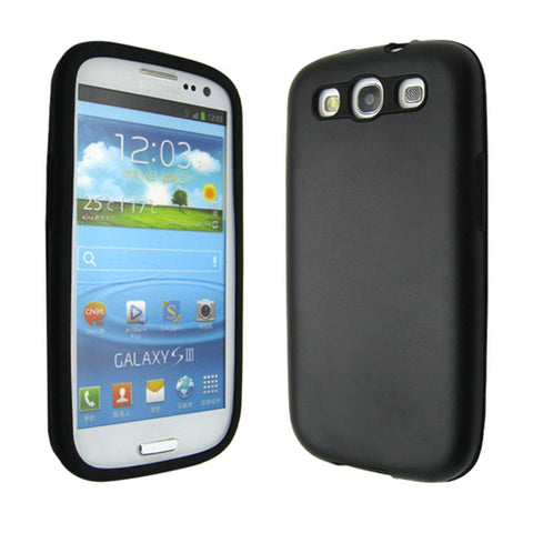 Samsung Galaxy S3 aluminium case - Black | Free Shipping