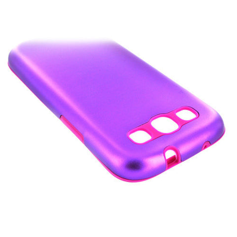 Samsung Galaxy S3 Aluminium case - Purple | Free Shipping