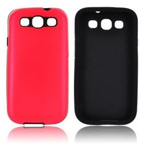 Samsung Galaxy S3 Aluminium case - Red | Free Shipping