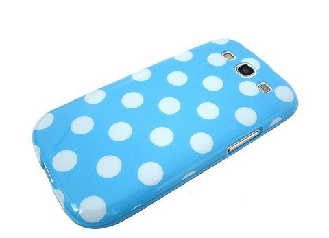 Samsung Galaxy S3 Polka Dot case - Blue/White | Free Shipping
