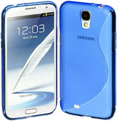 Samsung S4 S-Line Case - Blue | Free Shipping