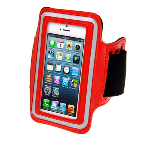 iPhone 5/5s Sports Running case - Red | Free Shipping