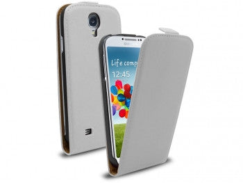 Samsung Galaxy S4 Flip Leather - White | Free Shipping