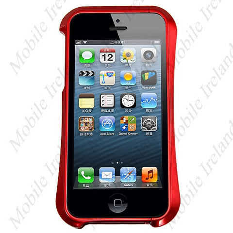 iPhone 5S Metal Bumper Case - Red | Free Shipping