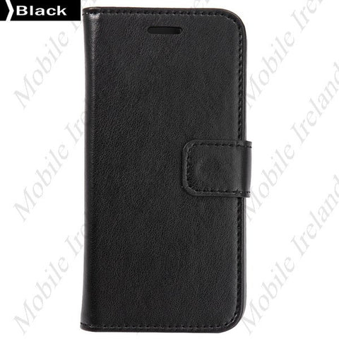 iPhone 6 Flip Leather Wallet  case - black | Free Shipping