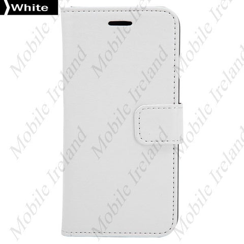 iPhone 6 Flip Leather Wallet  case - white | Free Shipping