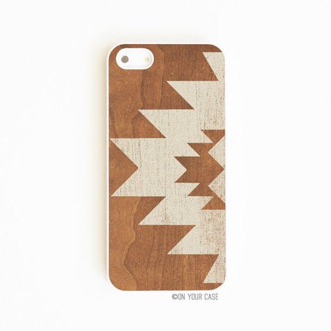 On Your Case iPhone 5/5S Case Aztec Geometric Stone | Free Shipping