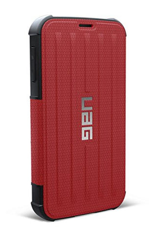 urban armor gear samsung galaxy s5 folio red