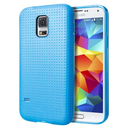 Protective Dot Soft Samsung S5 Case - Dark Blue | Free Shipping