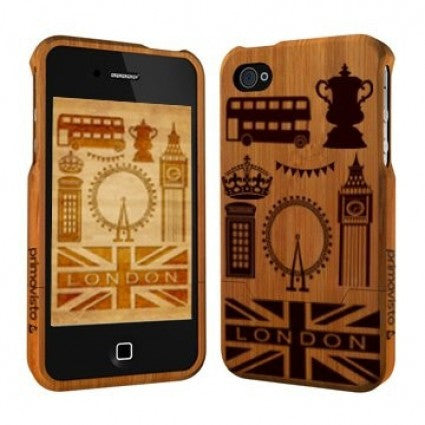 Primovisto iPhone 5/5s bamboo case - London | Free Shipping