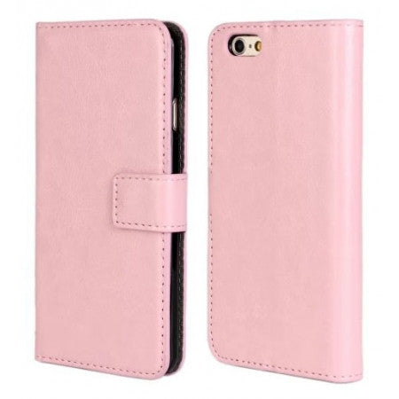 iPhone 6 Flip Leather Wallet  case - pink | Free Shipping