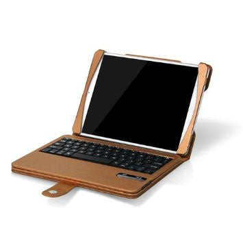 iPad air Keyboard Bluetooth Case - Gold | Free Shipping