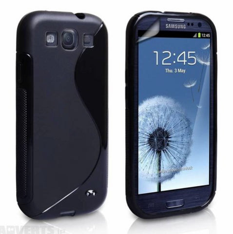 Samsung Galaxy S3 S-Line Case - Black | Free Shipping