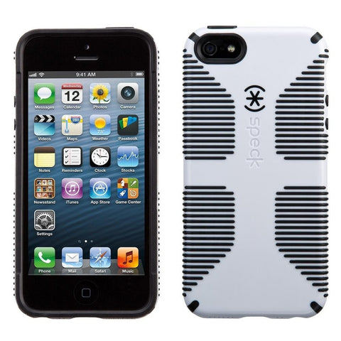 iPhone 5/5s/SE CandyShell Grip White/Black