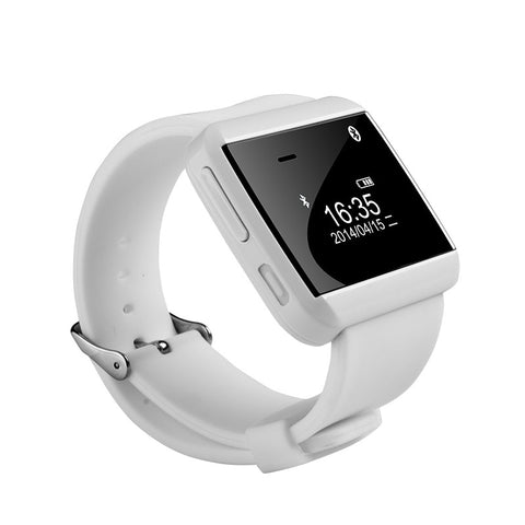 u watch 2s bluetooth smartwatch white