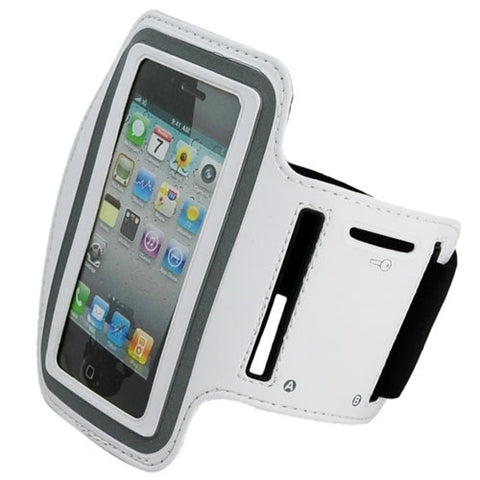 iPhone 4S Sports Running case - White | Free Shipping