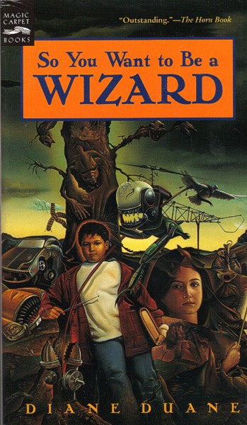 So You Want To Be A Wizard (Original Harcourt mass market paperback)