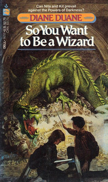 So You Want To Be A Wizard (Dell mmpb), final mint/excellent copies