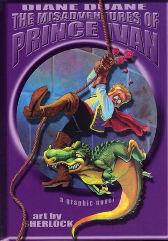 The Misadventures of Prince Ivan, small format pb graphic novel, final mint copies