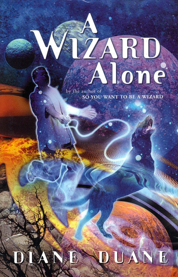 A Wizard Alone, Hardcover 1st Edition (mint / personalized), final copies