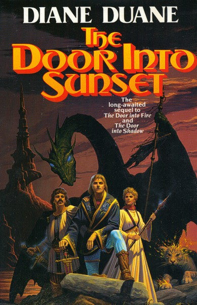 The Door Into Sunset hc (mint / personalized), final copies
