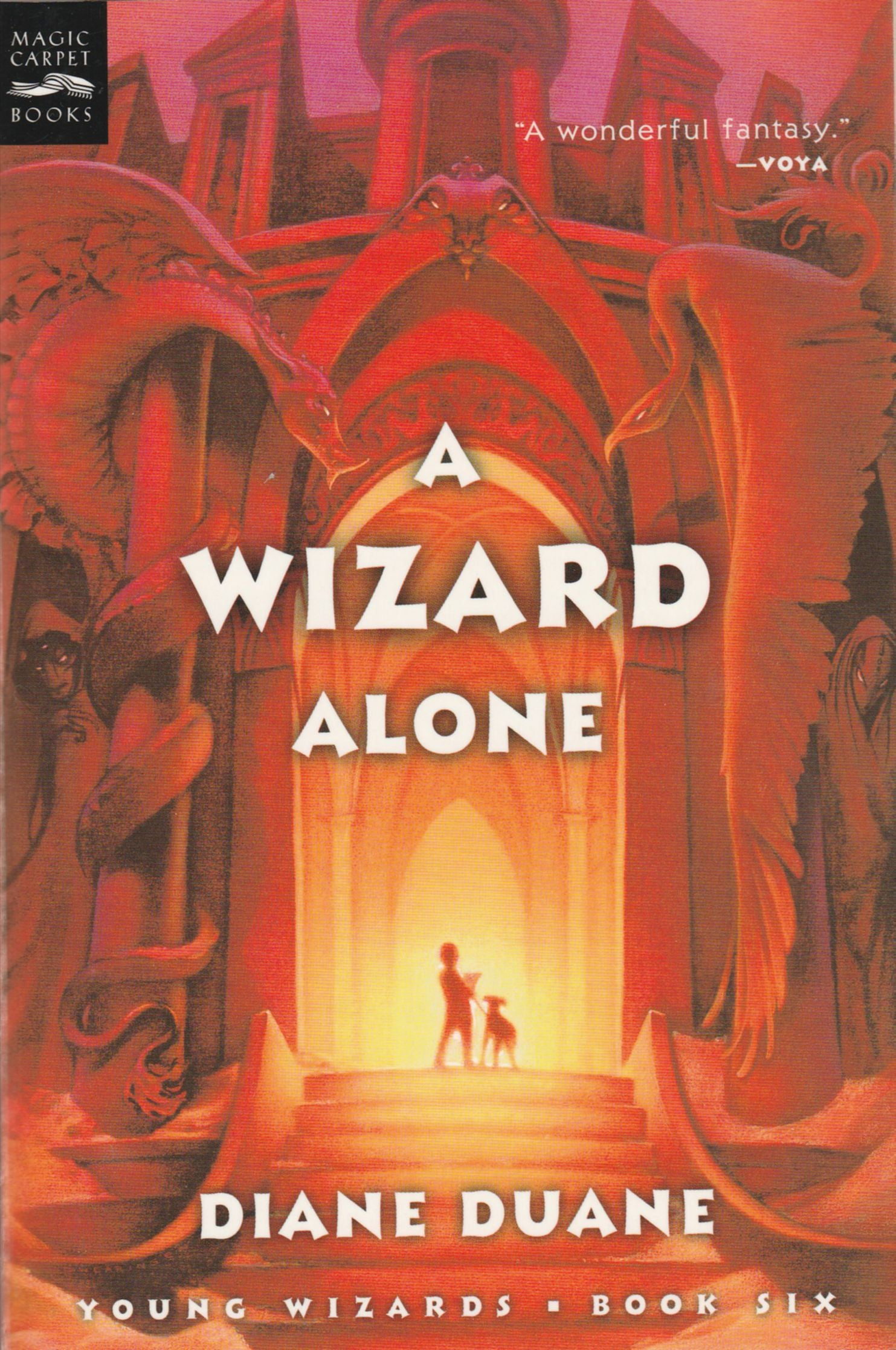 A Wizard Alone, digest format paperback, mint condition, final copies