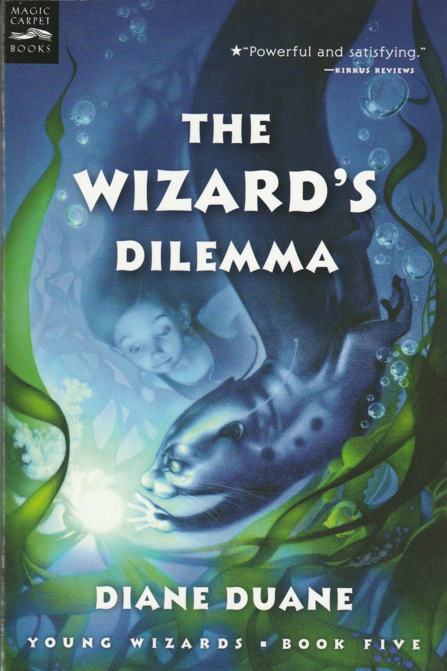 The Wizard's Dilemma, digest format paperback, mint condition, final copies