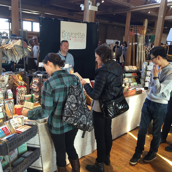 Hustling at Renegade Craft Fair