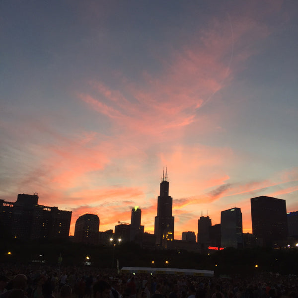lollapalooza sunset