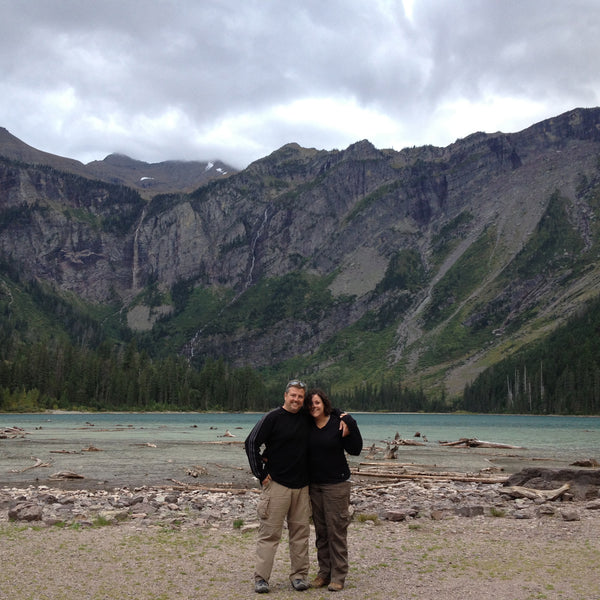 Tom & I at Glacier National Park
