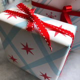 chicago argyle gift wrap