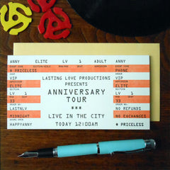anniversary rock ticket