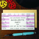 bachlorette rock ticket