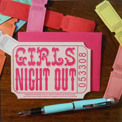 girls night out ticket