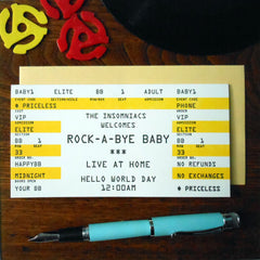 baby rock ticket