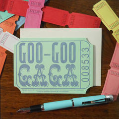 goo-goo gaga ticket